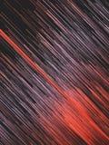 Digitale diagonale rode lijnen abstracte achtergrond het 3d teruggeven Royalty-vrije Stock Foto's