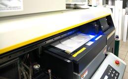 Digitale druk - brede formaatprinter royalty-vrije stock afbeeldingen