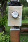 Digitale Elektrische Meter Stock Foto's