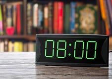 Digitale elektronische klok Royalty-vrije Stock Afbeelding