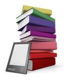 Digitale en document bibliotheek stock illustratie