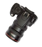 Digitale enig-lens reflexphotocamera Stock Afbeelding