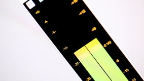 Digitale equaliser. stock footage