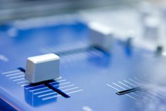 Digitale equaliser Stock Foto