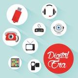 Digitale eratechnologie Royalty-vrije Stock Afbeelding