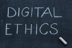 Digitale Ethiek royalty-vrije stock foto's