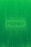 Digitale Financiënachtergrond Royalty-vrije Stock Afbeelding
