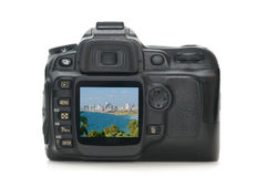 Digitale fotocamera Stock Afbeelding