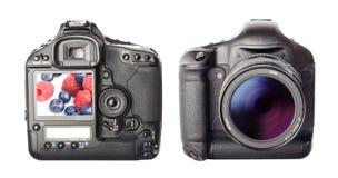 Digitale fotocamera stock foto's