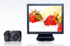 Digitale fotografie Stock Foto's