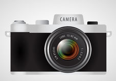 Digitale Fotokamera Mirrorless-Wechselobjektivs Stockfotos