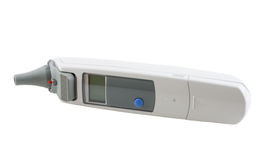 Digitale Geïsoleerde Thermometer Royalty-vrije Stock Fotografie