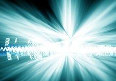 Digitale geest vector illustratie