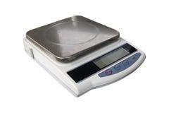 Digitale gewichtenschalen Stock Fotografie
