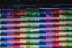 Digitale glitch Stock Foto's