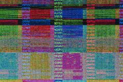Digitale glitch Royalty-vrije Stock Foto