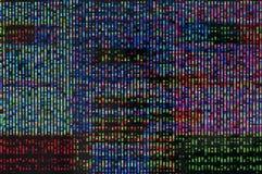 Digitale glitch Royalty-vrije Stock Foto