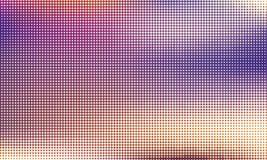 Digitale gradiënt met punten Abstract futuristisch paneel Gestippelde Backgound Zwart-wit halftone patroon Vectorillustratie Stock Afbeelding