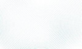 Digitale gradiënt met punten Abstract futuristisch paneel Gestippelde Backgound Zwart-wit halftone patroon Vectorillustratie Stock Foto's
