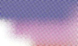 Digitale gradiënt met punten Abstract futuristisch paneel Gestippelde Backgound Zwart-wit halftone patroon Vectorillustratie Stock Afbeeldingen