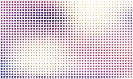 Digitale gradiënt met punten Abstract futuristisch paneel Gestippelde Backgound Zwart-wit halftone patroon Vectorillustratie Royalty-vrije Stock Fotografie