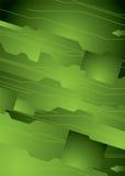 Digitale groene wereld stock illustratie