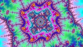 Digitale heelal abstracte kleurrijke achtergrondfractal hoge resolutie vector illustratie