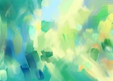 Digitale het schilderen abstracte achtergrond Royalty-vrije Stock Afbeelding