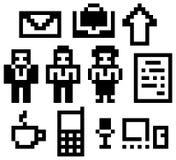 Digitale-icone illustrazione vettoriale
