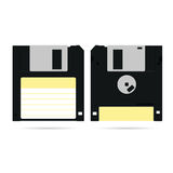 Digitale Illustration der Diskettekunst Stockbild