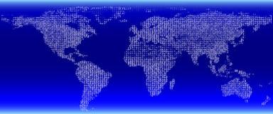 Digitale kaart. Royalty-vrije Stock Foto