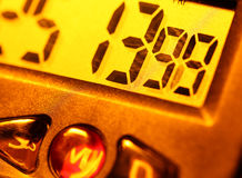 Digitale klok Royalty-vrije Stock Foto's