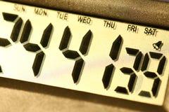 Digitale klok Stock Afbeelding