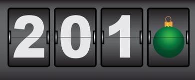 Digitale klokken voor nieuw jaar Royalty-vrije Stock Afbeelding