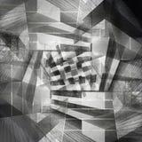 Digitale Kunst des abstrakten grungy konkreten Hintergrundes vektor abbildung