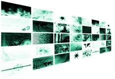 Digitale Leeftijd van Zaken royalty-vrije illustratie
