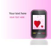 Digitale liefde Royalty-vrije Stock Fotografie