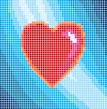 Digitale liefde Stock Afbeeldingen