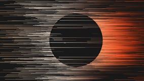 Digitale lijnen abstracte achtergrond het 3d teruggeven Royalty-vrije Stock Fotografie