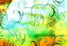 Digitale lijnen en vormen Stock Fotografie