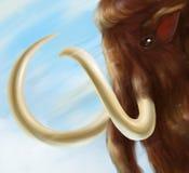 Digitale Mammutkunst Lizenzfreies Stockfoto