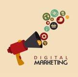 Digitale Marketing stock illustratie