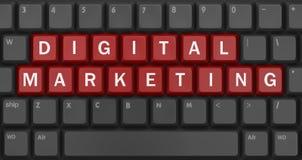 Digitale Marketing vector illustratie