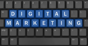 Digitale Marketing Stock Afbeelding