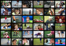 Digitale mensen Royalty-vrije Stock Foto