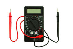 Digitale multimeter Stock Afbeelding