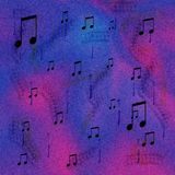 Digitale Muziek Royalty-vrije Stock Foto's