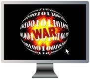 Digitale Oorlogvoering vector illustratie