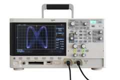 Digitale oscilloscoop stock fotografie