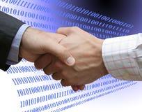 Digitale overeenkomst Stock Afbeelding